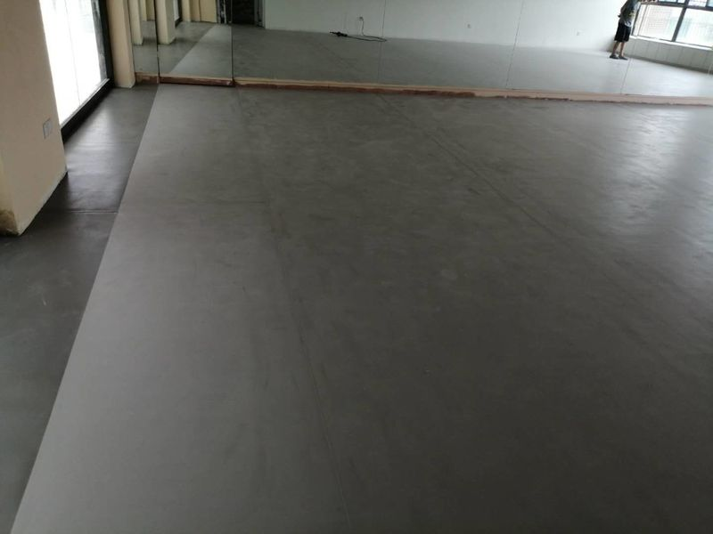 江苏苏州个人舞蹈室小丑地胶铺设案例