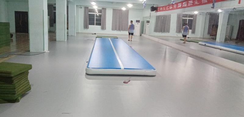 江西南昌艺咖文艺舞蹈室小丑地胶安装案例