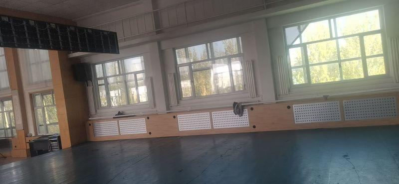 鄂托克前旗乌兰牧骑舞蹈室舞爱罗地胶铺设案例