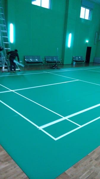 运动木地板,羽毛球地胶