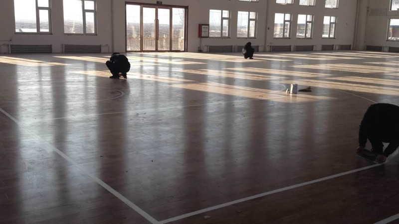 运动地板,运动木地板