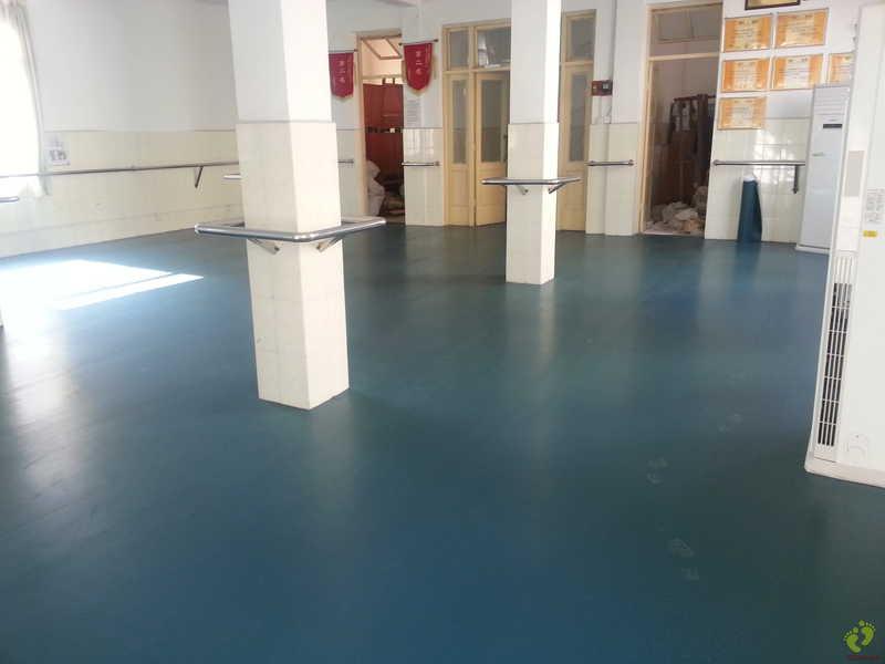 广西医科大学附属口腔医院舞蹈地胶铺设